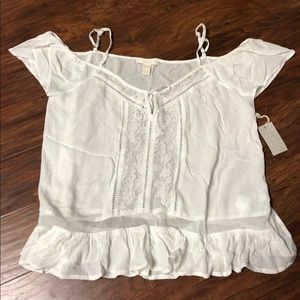NWT Forever 21 blouse Size Large